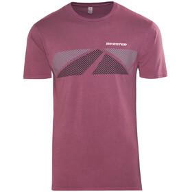 Bikester Logo Shirt T-Shirt rød
